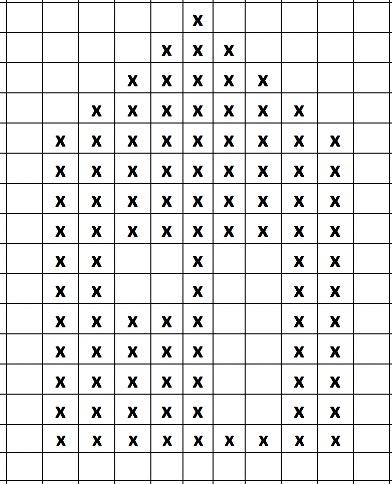 perleplade perler mønstrer 3